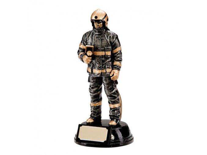 Trofej CRF0116 hasič Výška 19cm