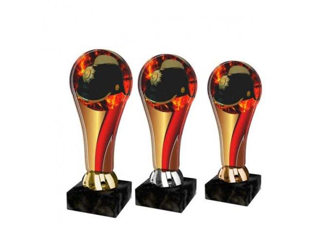 Akrylátová trofej ACL2100M44 Hasiči