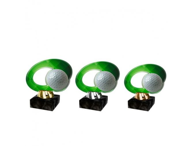 Akrylátová trofej CACL2102M14 Golf