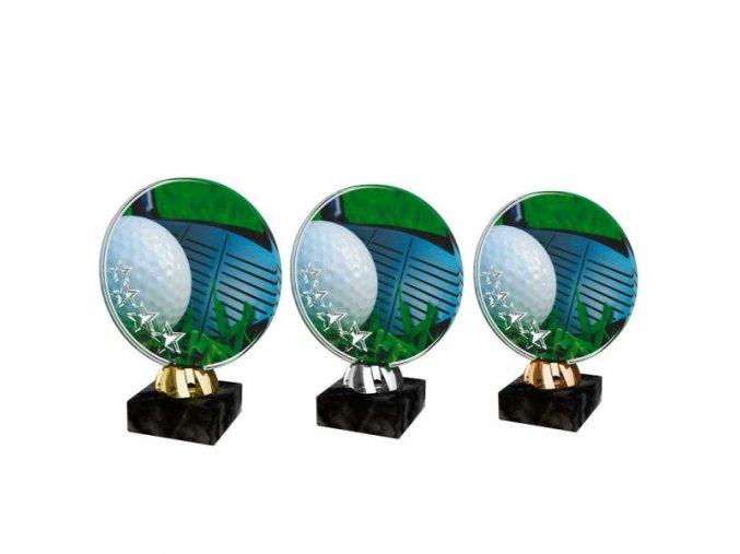 Akrylátová trofej CACL2103M19 Golf