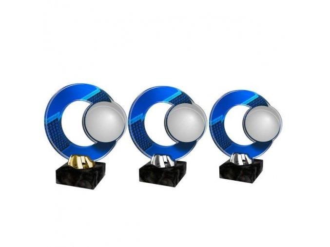 Akrylátová trofej CACL2101M13 Golf