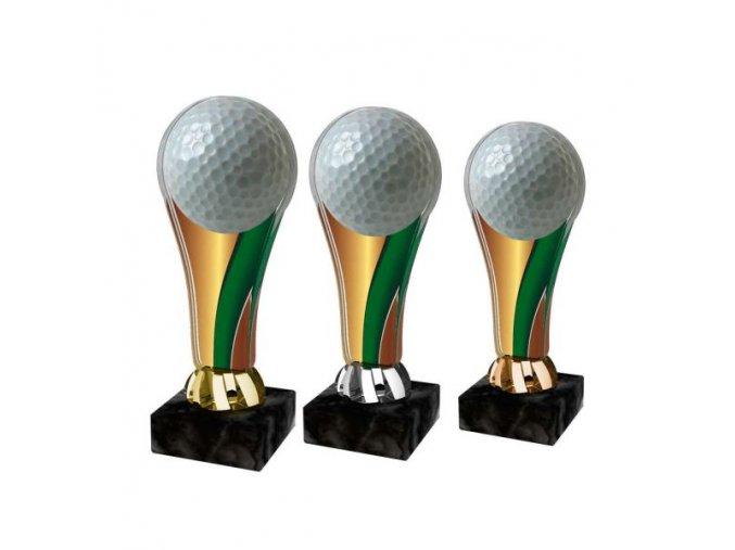 Akrylátová trofej ACL2100M13 Golf