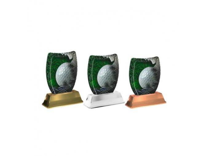 Akrylátová trofej ACE2002M10 Golf