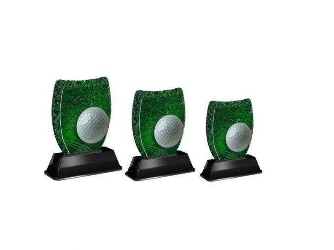 Akrylátová trofej ACE2001M09 Golf
