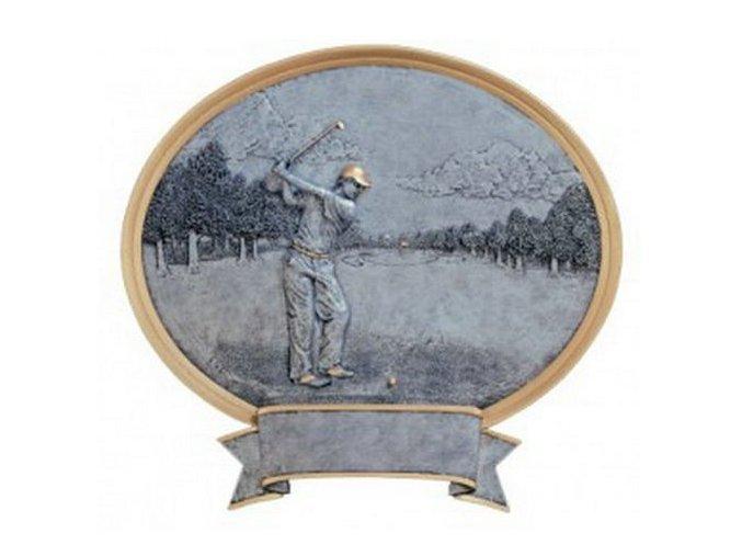 Trofej  CFG54621 golf Výška 22 cm