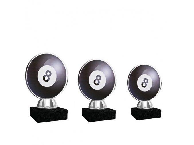 Akrylátová trofej CACL1031NM7 kulečník