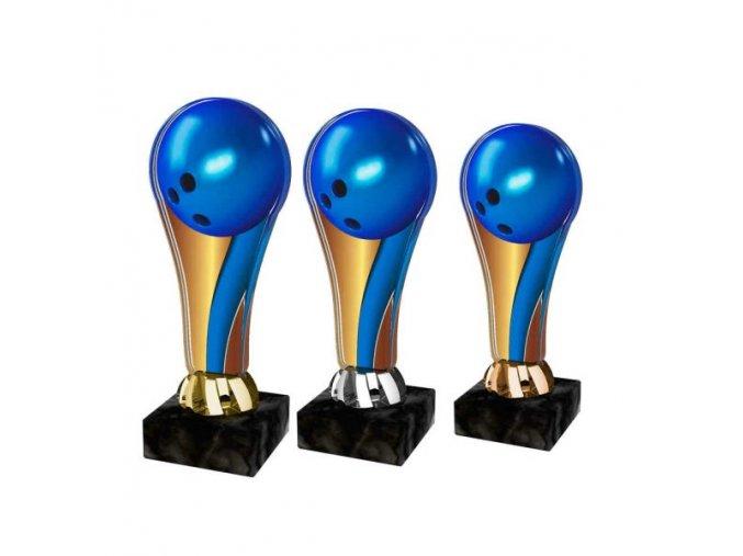 Akrylátová trofej ACL2100M21 Bowling