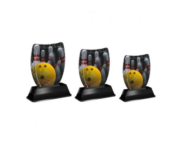 Akrylátová trofej ACE2001M30 Bowling