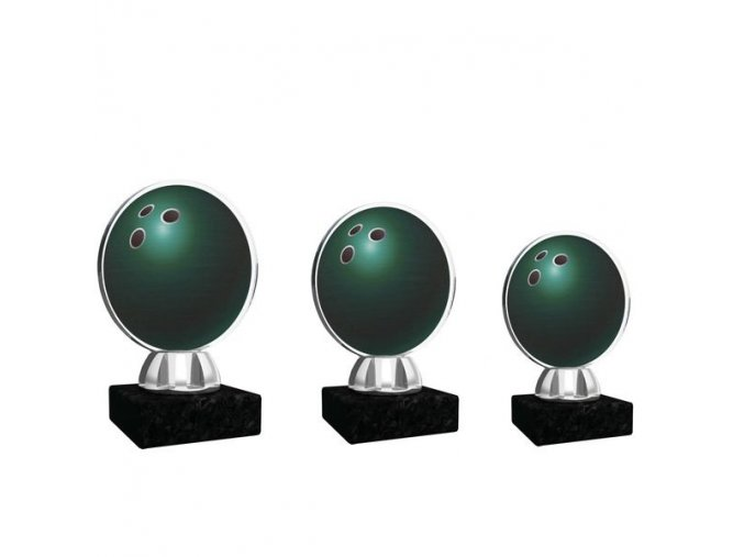 Akrylátová trofej CACL1031NM2 bowling
