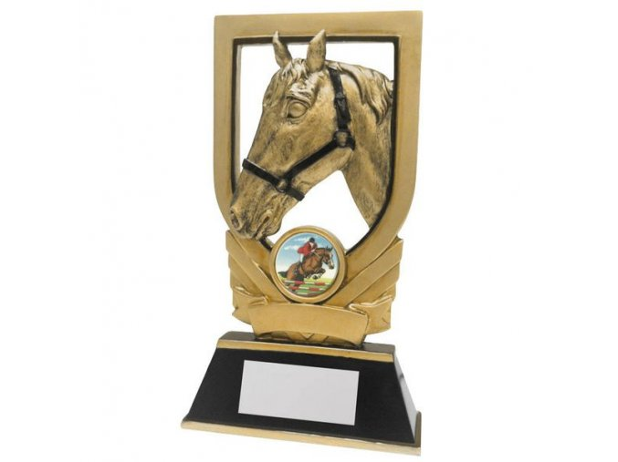 Trofej  CRF2201 kůň  Výška 17cm
