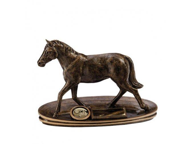 Trofej  CRF3038 kůň  Výška 14cm
