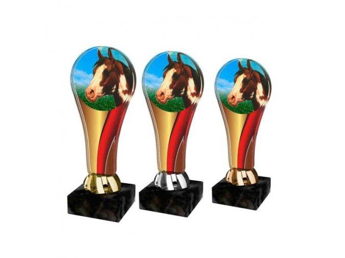 Akrylátová trofej ACL2100M37 Dostihy