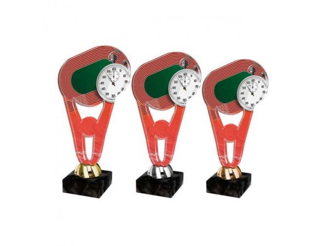 Akrylátová trofej CPLA0010 Běh
