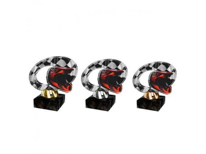 Akrylátová trofej CACL2102M40 Auto Moto