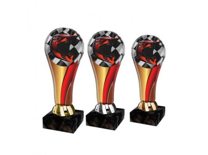 Akrylátová trofej ACL2100M42 Moto