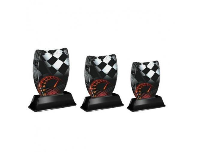 Akrylátová trofej ACE2001M38 Moto