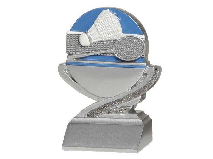 Trofej plaketa CRFB0104 badminton Výška 10 cm