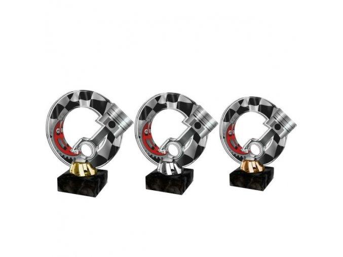 Akrylátová trofej CACL2101M37 Cyklistika
