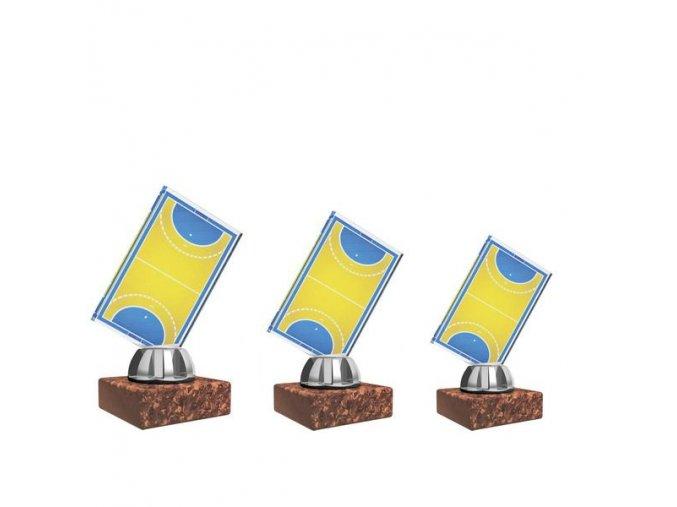 Akrylátová trofej CACL1032NM4 házená