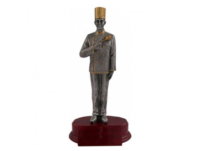 Trofej CRFC kuchař Výška 19cm
