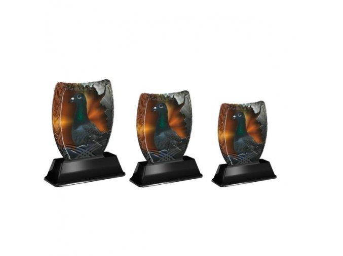 Akrylátová trofej ACE0201M37 Holub