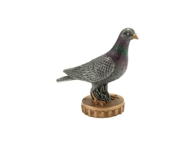 Trofej  CU12 holub Výška 8cm
