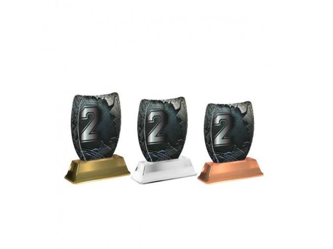 Akrylátová trofej ACE2002M46 2.Místo
