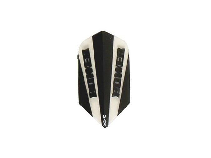 Letky POWER MAX slim black/white clear