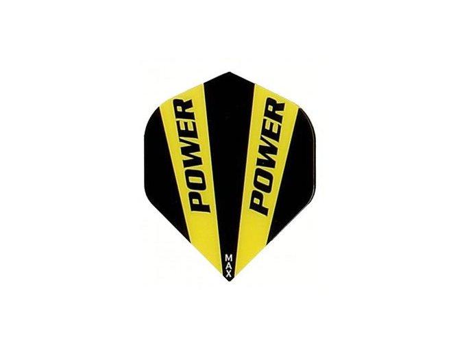 Letky POWER MAX standard black/yellow