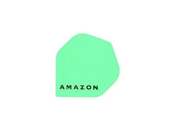 Letky AMAZON standard neon zelené