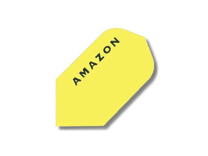 Letky AMAZON slim žluté