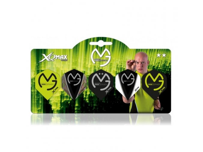 Letky MVG MICHAEL VAN GERWEN GREEN SET **