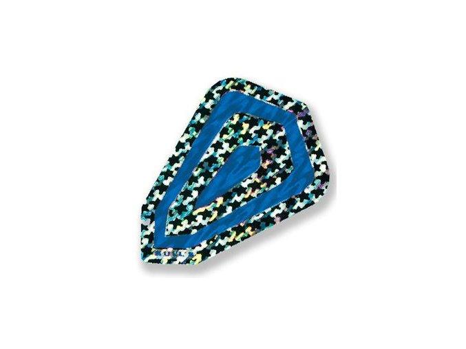 Letky FANTASY fantail blue/silver