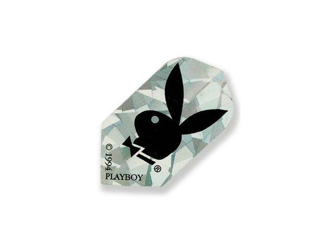 Letky PLAYBOY slim silver/black