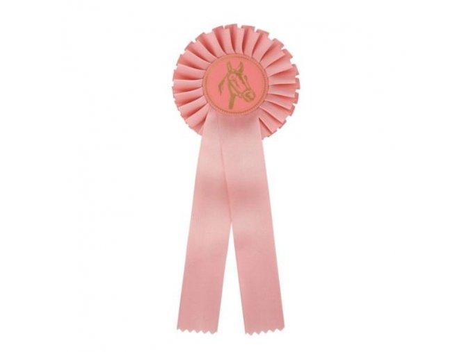 Kokarda jednořadá CK1 růžová průměr 12,5 cm, délka 31 cm