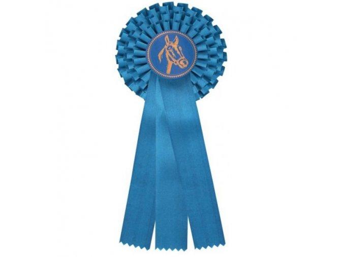 Kokarda třířadá CK3 modrá průměr 13,5 cm, délka 37cm