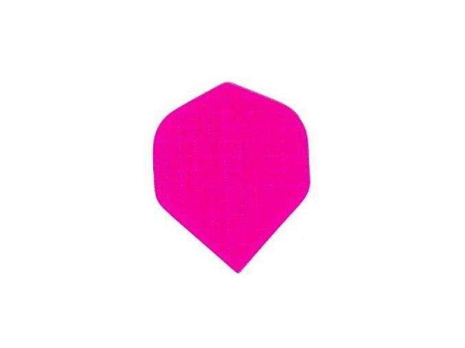 Letky plátěné Longlife standard neon růžové