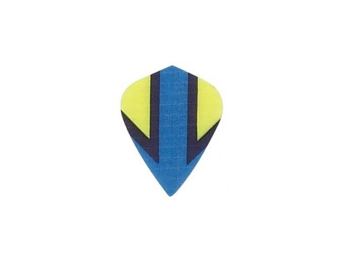 Letky plátěné Longlife kite modrá Šipka