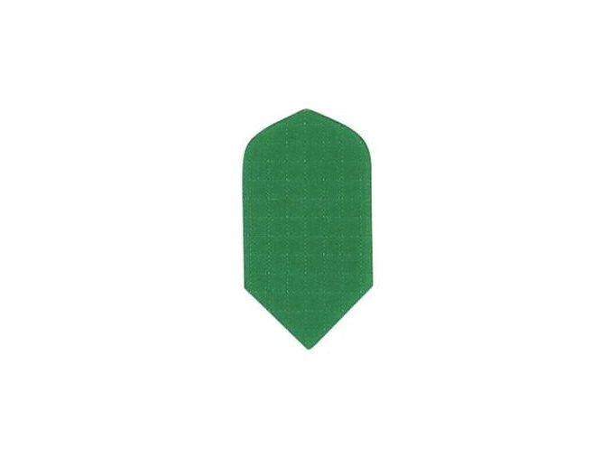 Letky plátěné Longlife slim zelené