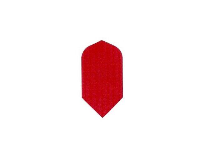 Letky plátěné Longlife slim červené