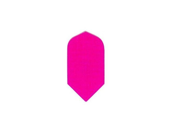 Letky plátěné Longlife slim neon růžové