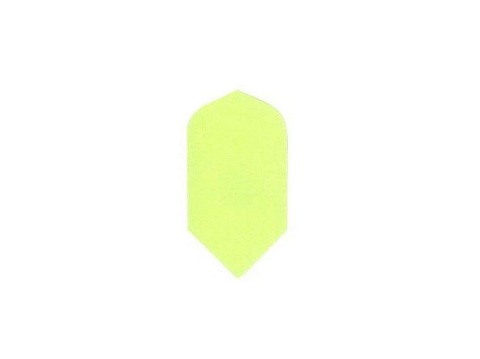 Letky plátěné Longlife slim neon žluté