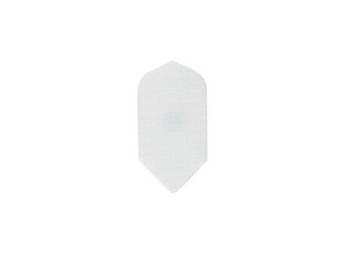 Letky plátěné Longlife slim bílé