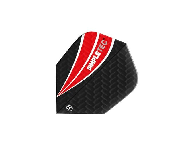 Letky DIMPLETEC standard black/red