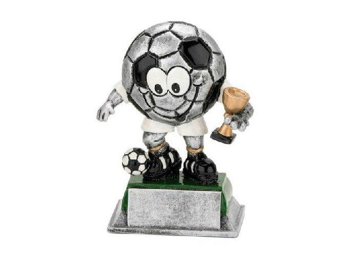 Trofej soška fotbal Míč 12cm