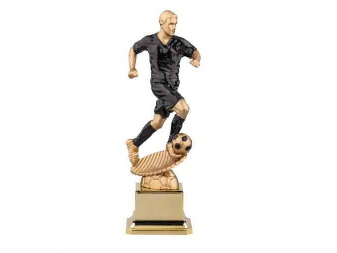 Trofej CFB0049 fotbal  zlatý