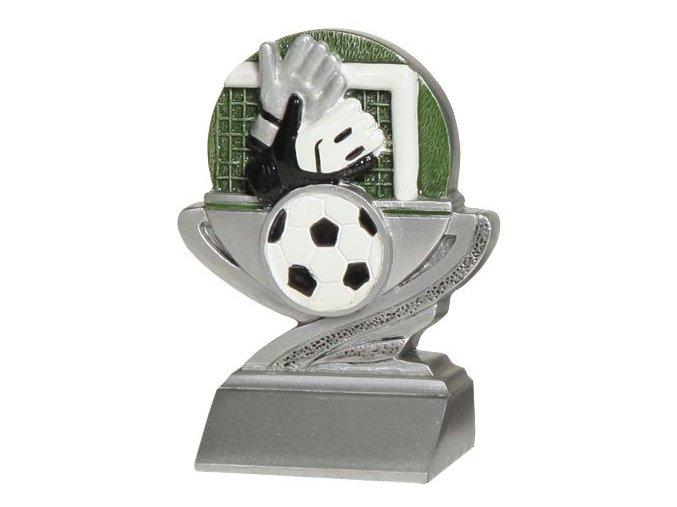 Trofej plaketa CRFB0102 fotbal   Výška 10 cm