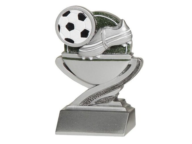 Trofej plaketa CRFB0101 fotbal  Výška 10 cm