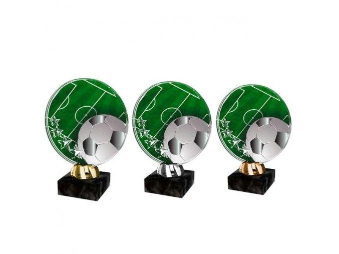 Akrylátová trofej CACL2103M5 Fotbal