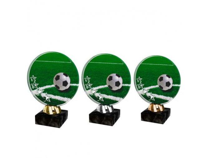 Akrylátová trofej CACL2103M1 Fotbal